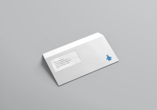 Sukei Foundation envelope design